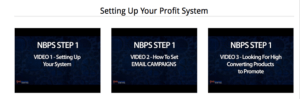 no brainer profit system setting up your system