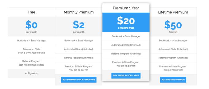 buxenger free and premium