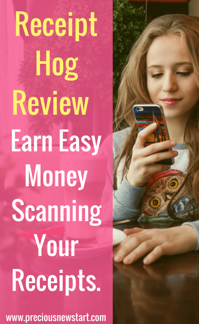 Receipt Hog Review - Earn Easy Money Scanning Your Receipts