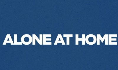 alone at home logo