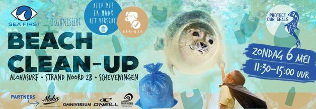 Sea First Beach Clean-up | Precious Plastic Den Haag | PPDH