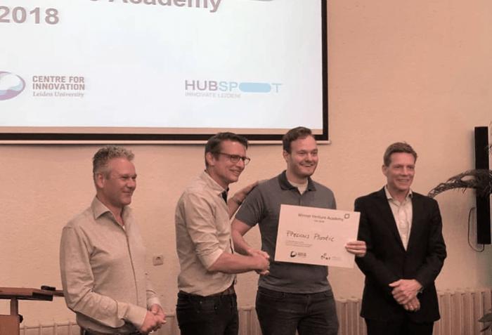 Winner Venture Academy 2018 | Precious Plastic Den Haag | PPDH