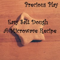 Easy Salt Dough Play (Microwave Recipe)