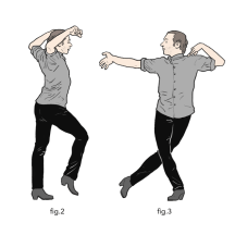 Flamenco, fig. 2 et 3