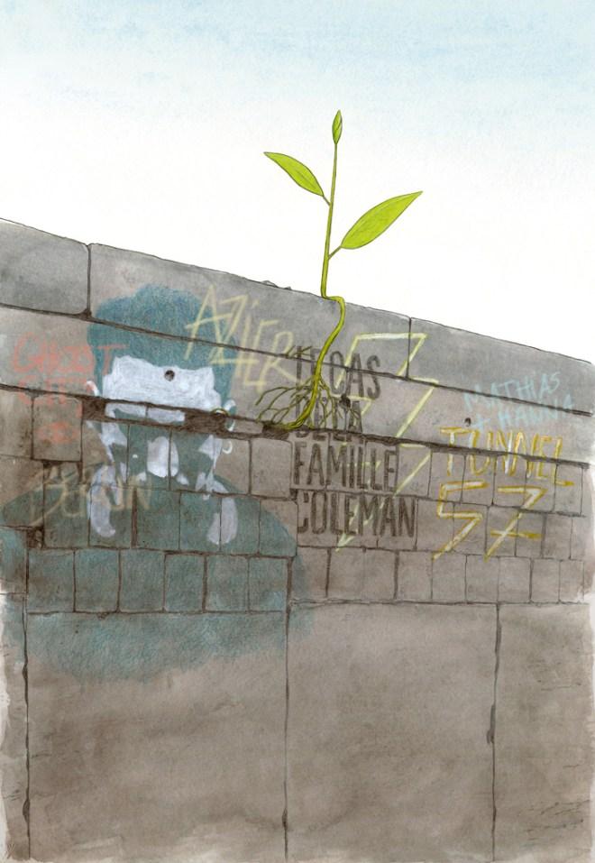 Jeunes Pousses #3 à Épinay-sur-Seine: l'illustration pour l'affiche