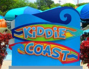 Photo 21  final photo of Kiddie Coast sign