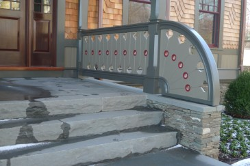 ornate railing