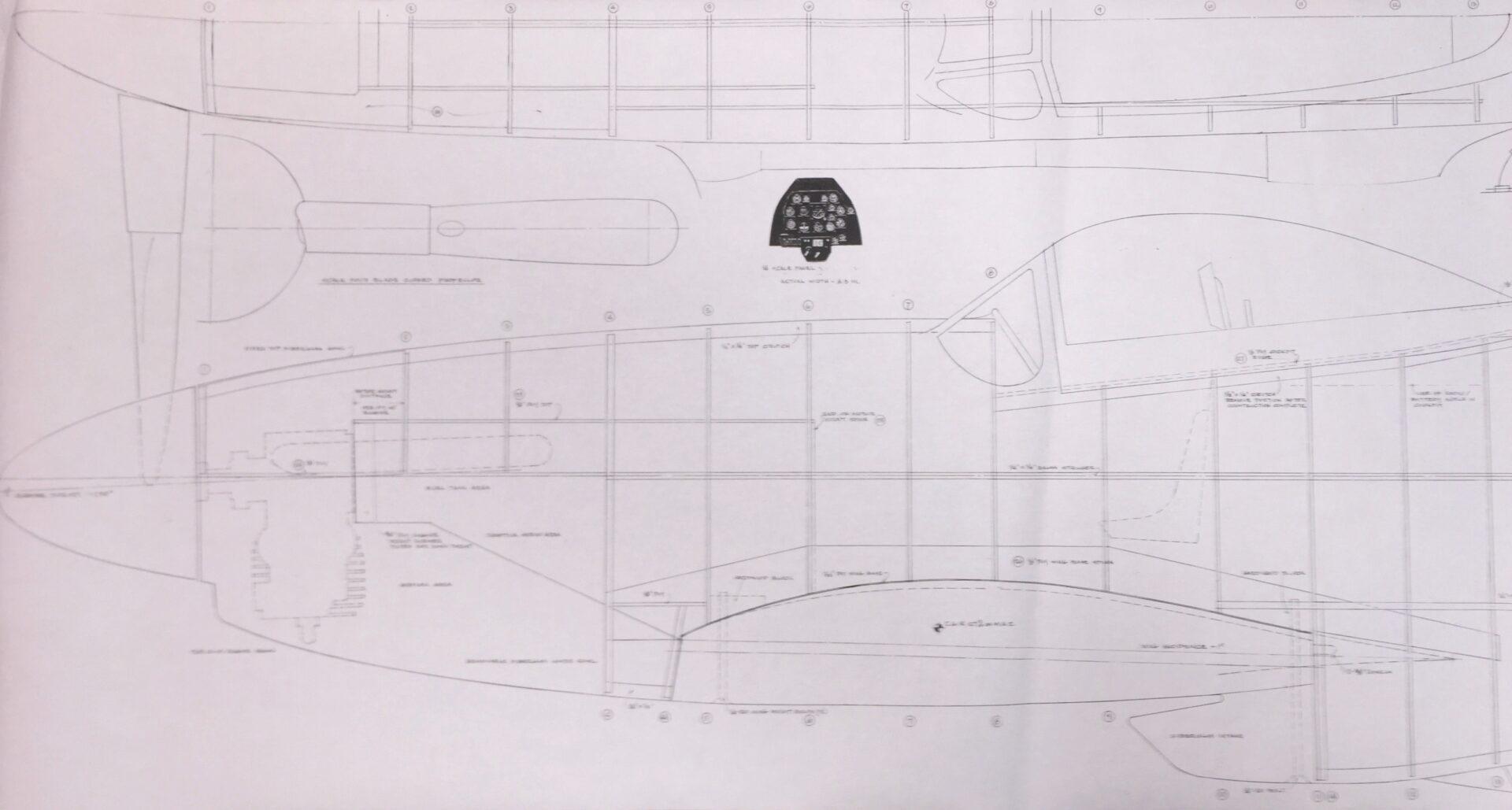North American P 51d Amp B Mustang 112 Plan Set
