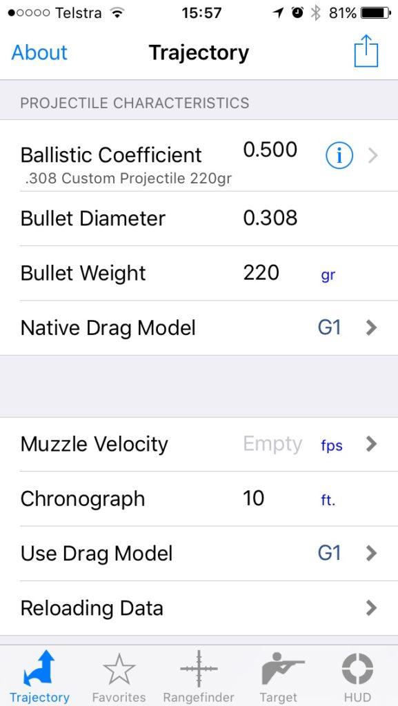 Kestrel Drop Ballistics/Ballistic AE installation 3