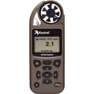 Kestrel Sportsman Weather Meter with Applied Ballistics
