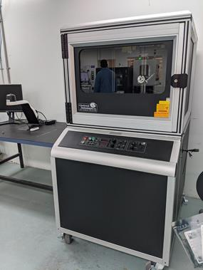 An X Ray machine for electronic manufacturing