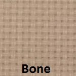 Bone fabric sample. Available only in the Aurora sun screens series.