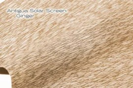Elements Antigua Solar Screen Ginger solar shade fabric