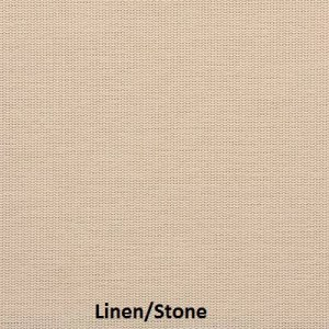 This fabric sample is only for our M Screen solar screen series. this is our Linen/Stone sample.