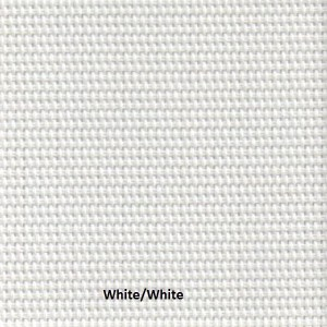 Here is White/White sample of fabric for M Screen series of our sun screens.