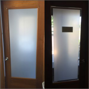 Doctor Uses Decorative Glass Film to Add Privacy and Decor