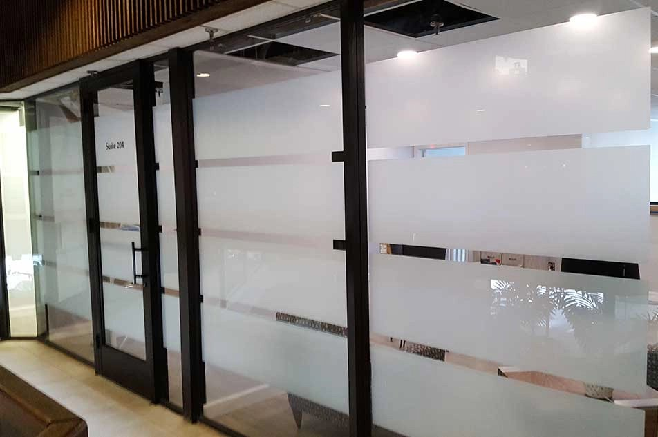 Decorative Window Film - 5 Reasons It's Preferred For Privacy & Branding - Decorative Glass Films in Tabernacle, New Jersey and Philadelphia
