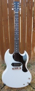 White SG Jr Guitar