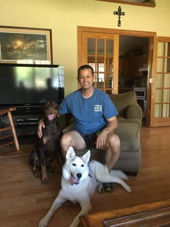 Bob Burkhead, Owner/Trainer, Dog trainers can come from many different backgrounds but we all have the same goal, to help people understand and bond with their dogs.