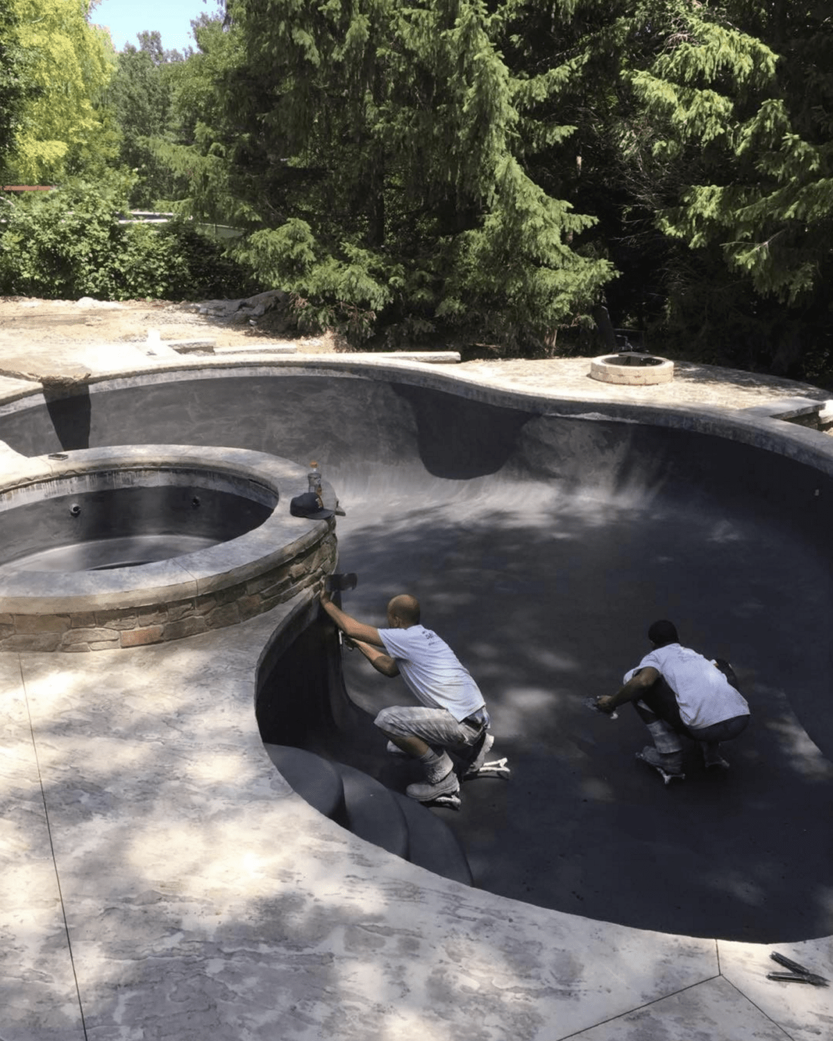 inground pool resurfacing, pool repair, Rochester, NY