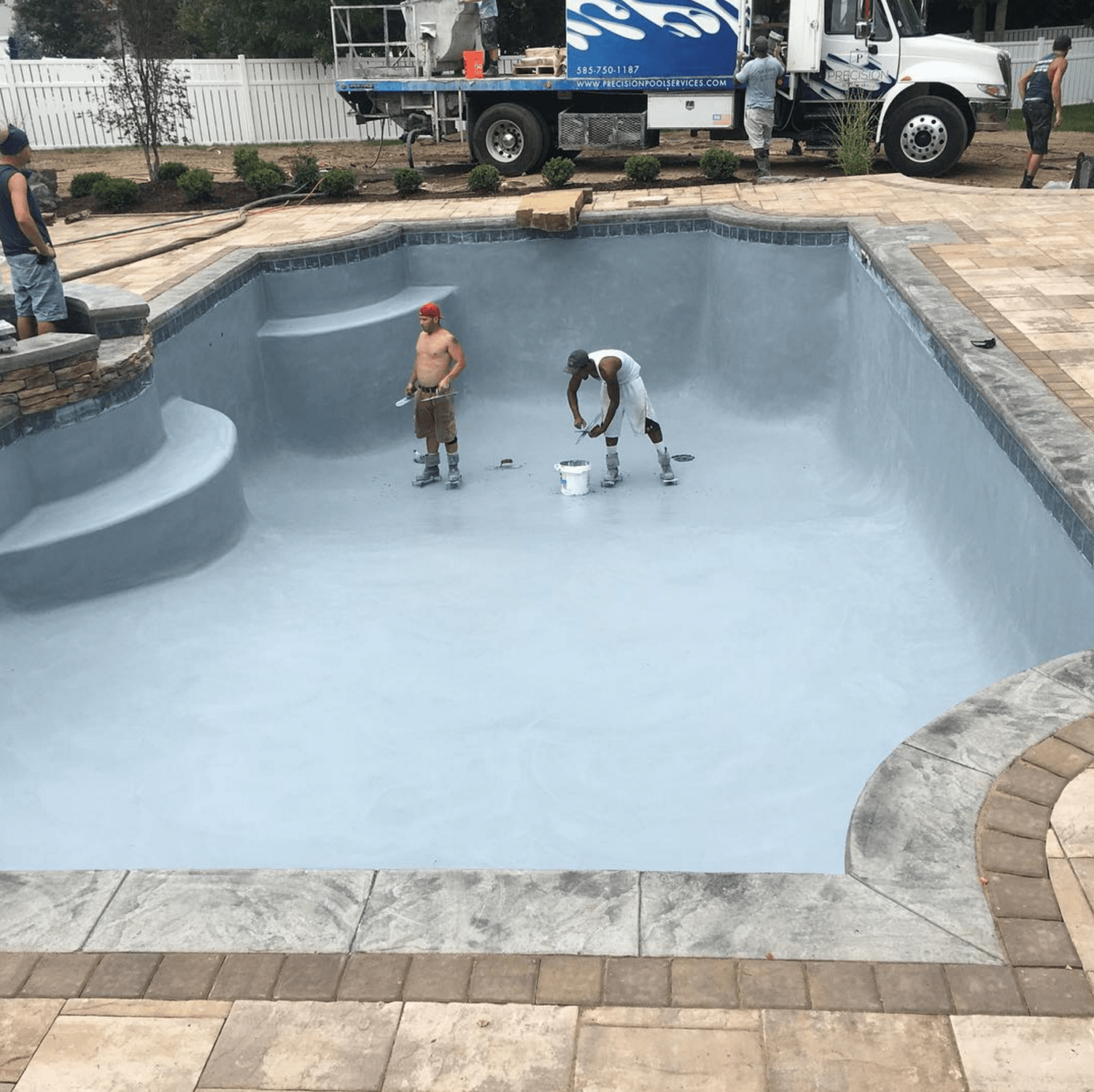 inground pool restoration, pool repair, pool service, Rochester, NY