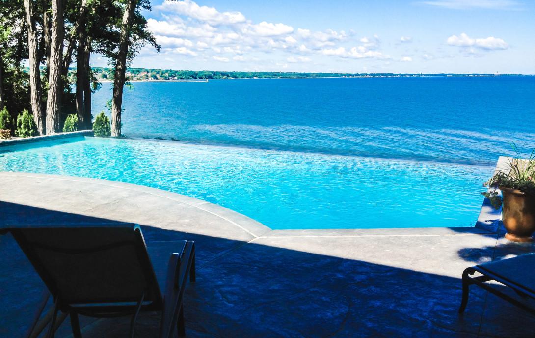 inground pool, Infinity Pool,