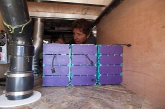 Solar power lithium battery installation - Precision RV
