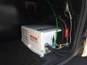 Class C winnebago View 500 watts, 2000 watt inverter, 300 AH under step, 30 amp sub panel