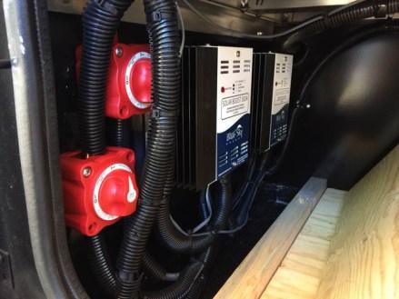 Class A fleetwood Bounder 1000 watts 600 AH LI Dual Controllers