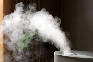 Humidifier steaming