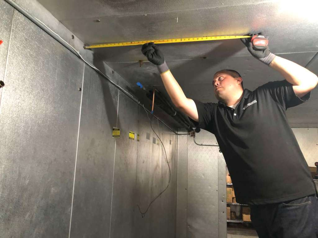 walk in freezer repair san diego