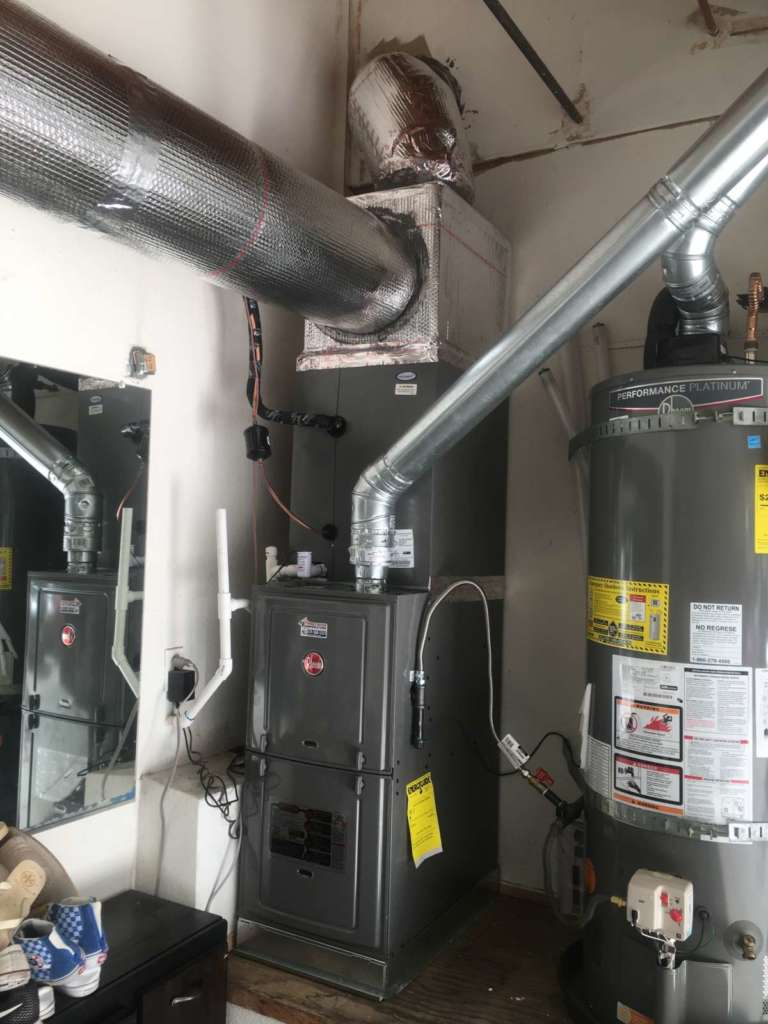 New furnace that was just installed