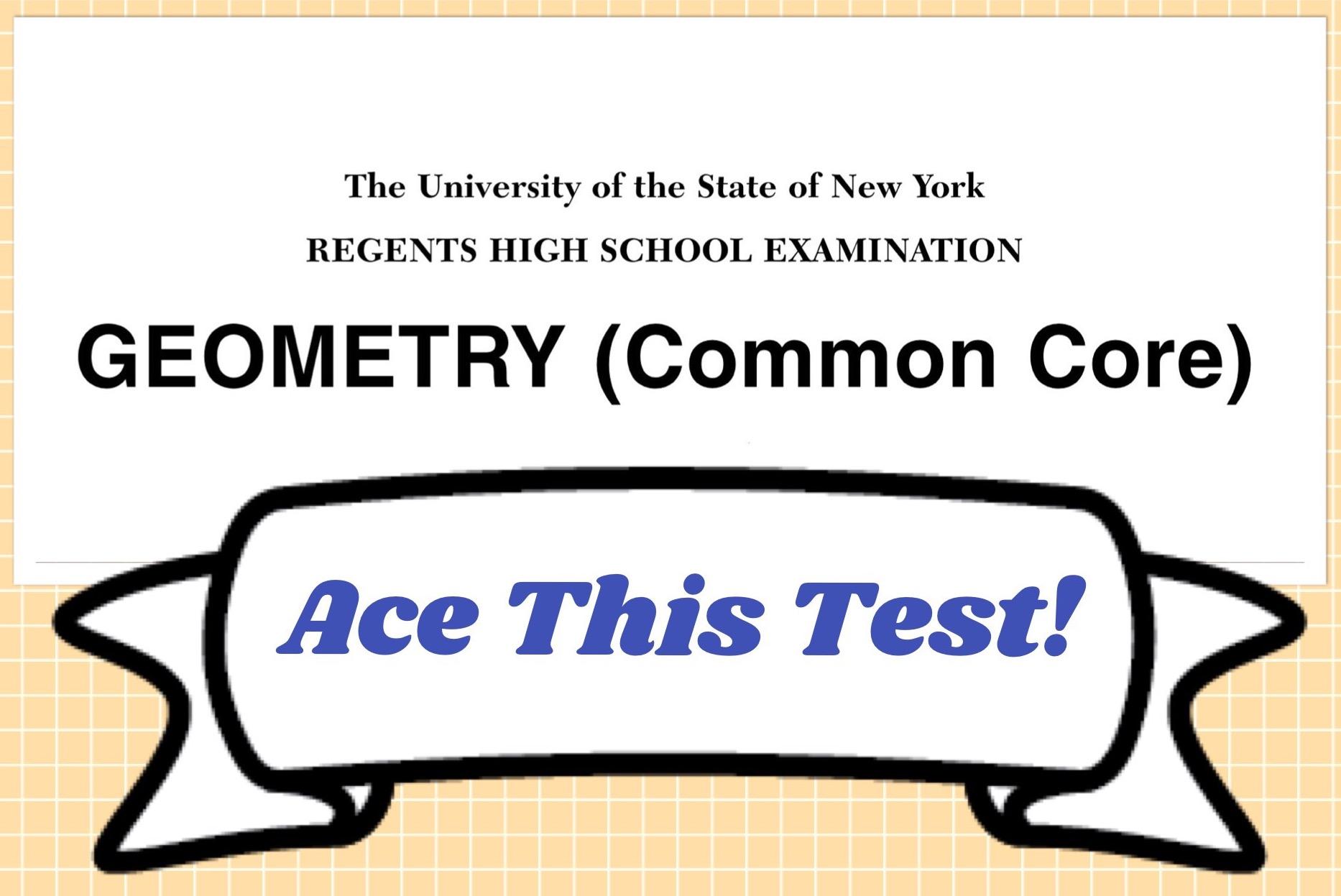 High School Geometry Common Core