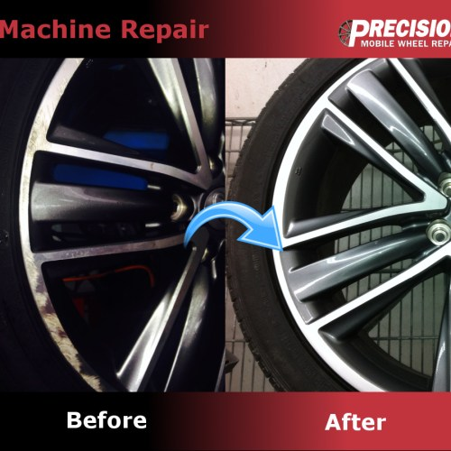 Precision Wheel Repair Refinishing Services