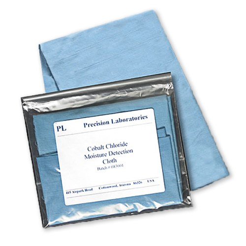 cobalt chloride cloth