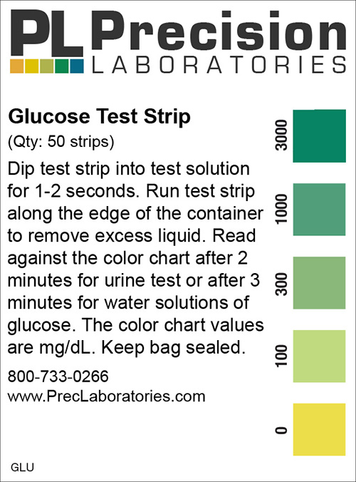 Glucose Test Strip - Precision Laboratories