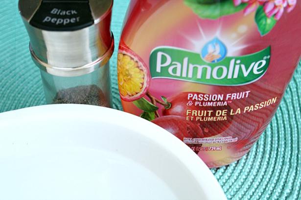 Palmolive finger dip