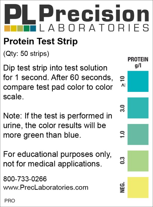 protein test strip, protein, protein test strips