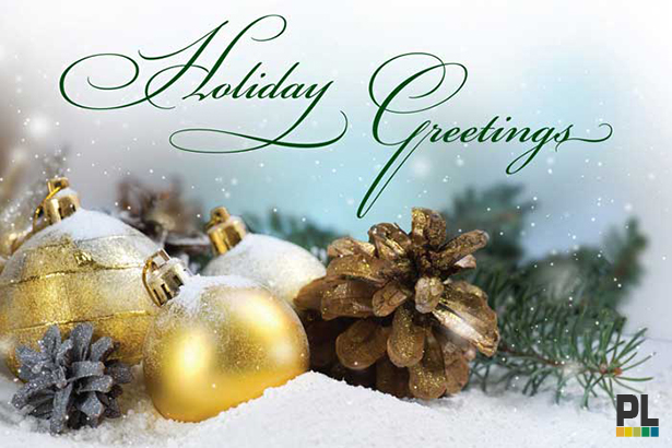 Happy Holidays from Precision Laboratories!