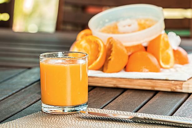 ph of orange juice