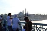 fishing in Istanbul