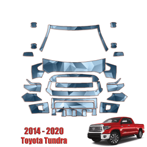 2014 – 2021 Toyota Tundra – Precut Paint Protection Kit (PPF) Partial Front