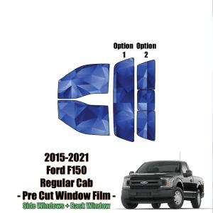 2015 – 2021 Ford F150 Regular Cab – Full Truck Precut Window Tint Kit Automotive Window Film