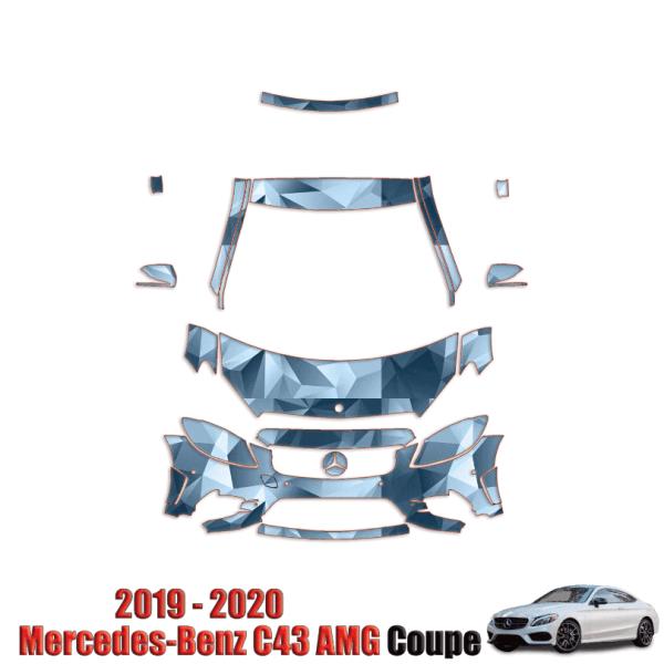 2019 – 2020 Mercedes Benz C-Class – Paint Protection Kit