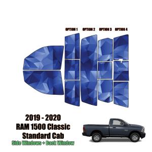2019 – 2020 RAM 1500 Classic Standard Cab – Full Truck Precut Window Tint Kit Automotive Window Film