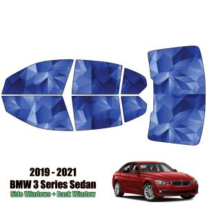 2019 – 2021 BMW 3 Series – Full Sedan Precut Window Tint Kit Automotive Window Film