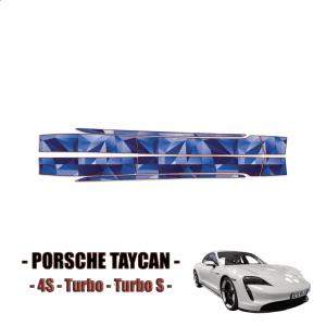 2020 Porsche Taycan Precut Paint Protection Film- Rocker Panels