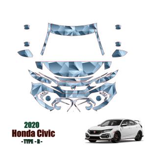 2020-2021 Honda Civic Type R – PPF Kit PreCut Paint Protection Kit – Partial Front