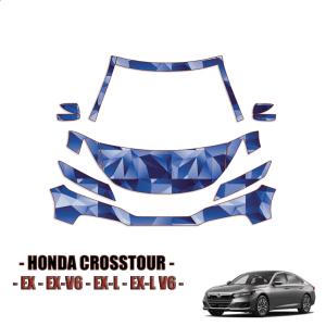 2013-2021 Honda Crosstour  PPF Kit PreCut Paint Protection Kit – Partial Front