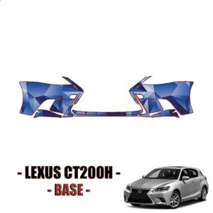 2014-2021 Lexus CT200h Base Precut Paint Protection Kit (PPF) Front Bumper
